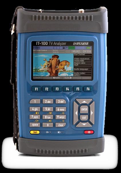 IT-100 Multisystem TV Signal Analyzer
