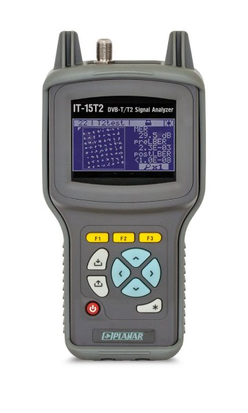 IT-15T2 DVB-T2 TV Signal Analyzer